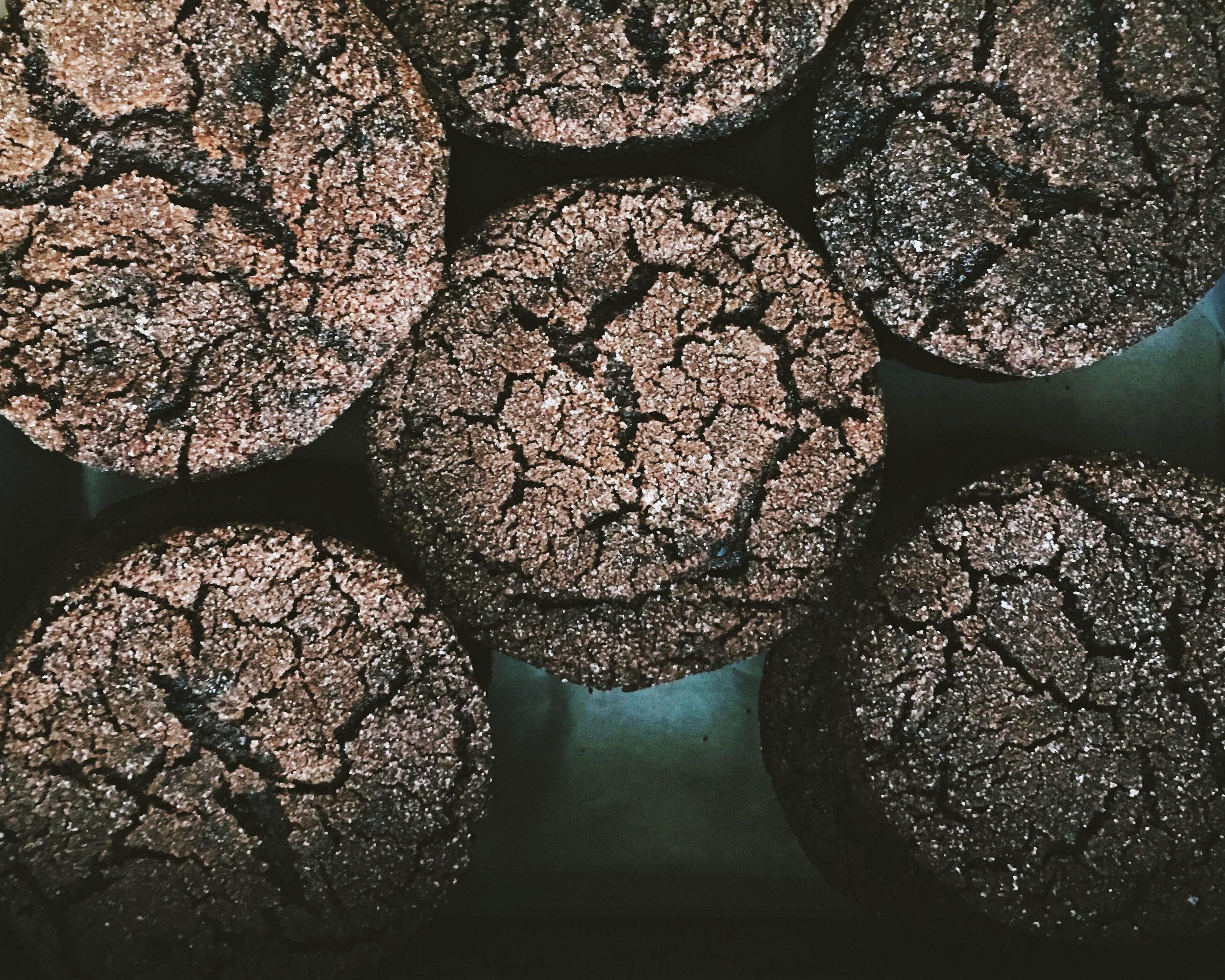 SARAH KEIFFER'S CHOCOLATE SUGAR COOKIES | Tara O'Brady