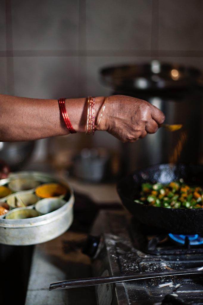 Her Arm While She Cooked | Tara O'Brady