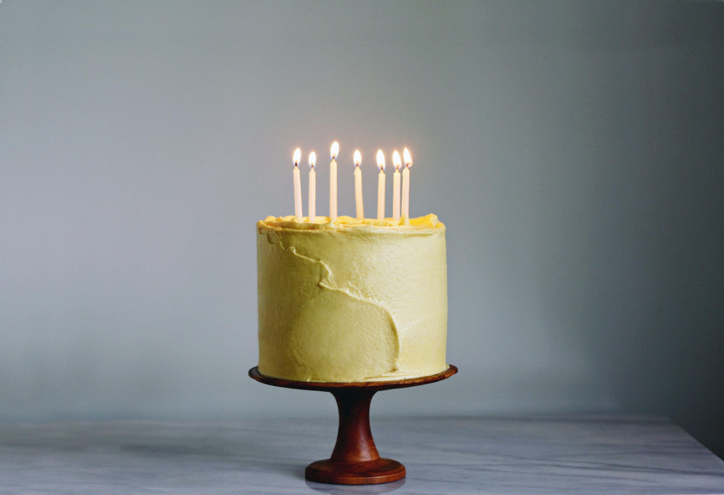 HAZELNUT + STRAWBERRY CELEBRATION CAKE | Tara O'Brady