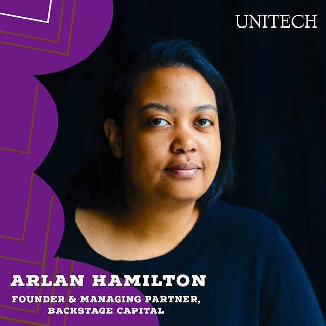 "We're thrilled to welcome Arlan Hamilton to Stockholm and the UniTech Hackathon in September!  Arlan is a remarkable entrepreneur who built a venture capital fund from the ground up, while homeless and changing Silicon Valley from within.  She is the Founder and Managing Partner of Backstage Capital, a venture capital firm dedicated to minimizing funding disparities in tech by investing in high-potential founders who are people of color, women, and/or LGBT.  Started in 2015, Backstage has now invested in 100 startups led by underestimated founders and has been featured in Forbes, Fast Company, Fortune, Wall Street Journal, CNN Money, Inc., Entrepreneur, and Quartz. Arlan made history by making the cover of Fast Company as the first Black woman who is not an entertainer or athlete.  Arlan entered the venture investing world from an unconventional path. Before launching Backstage Capital, she authored the groundbreaking blog ""Your Daily Lesbian Moment"", which she grew to a monthly readership of 50,000 fans worldwide. She has written for AOL, SuicideGirls, and Curve Magazine, and founded and published the internationally distributed indie magazine Interlude. Arlan was also a live music production professional, having served as a tour coordinator to numerous international artists including Toni Braxton, and Jason Derulo.  In 2018, Arlan co-founded, along with Investment Partner Christie Pitts, Backstage Studio, a new venture studio designed to build products, services, and initiatives that serve the mission of eliminating underrepresentation in tech by empowering founders and their teams to succeed. Also in 2018, Backstage announced the launch of Backstage Accelerator, a 3-month program designed to give founders the support they need to reach their next critical milestone. Backstage is a fully-remote team that has quickly scaled to 20 employees working together with an ever-expanding roster of world-class mentors and partners.  We can't wait to hear Arlan speak and share her valuable insights!  #unitechx #unitech #backstagecapital #arlanhamilton #diversity #inclusion #siliconvalley #blockchain #entrepreneur #entrepreneurship #vc #funding"