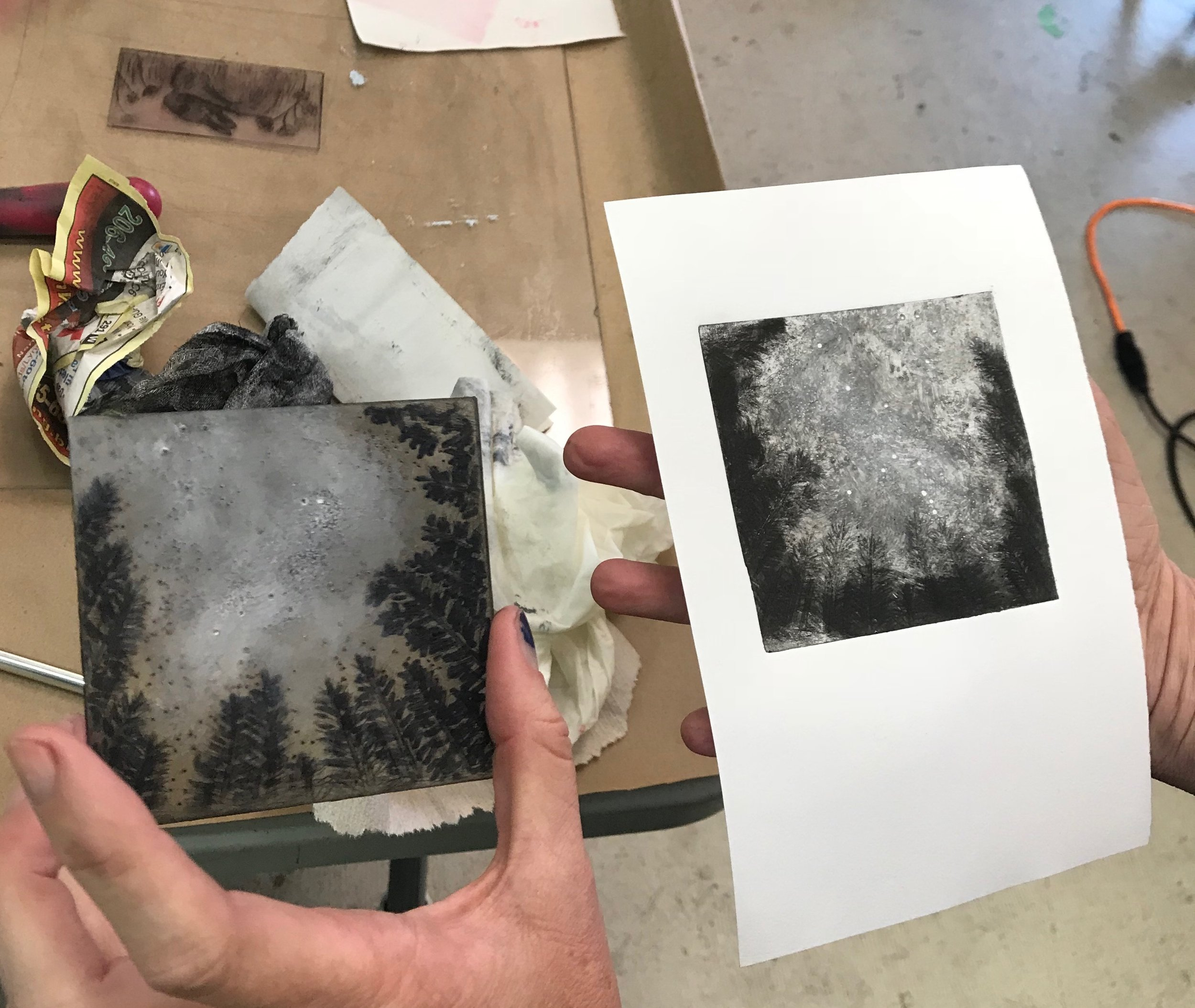 Drypoint Print and Plate.JPG