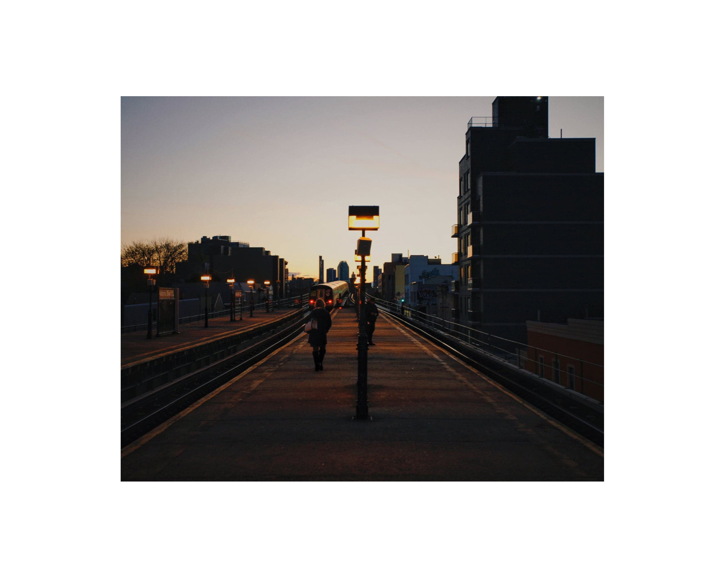 """Last train home""   Ramon Brito    Contact"