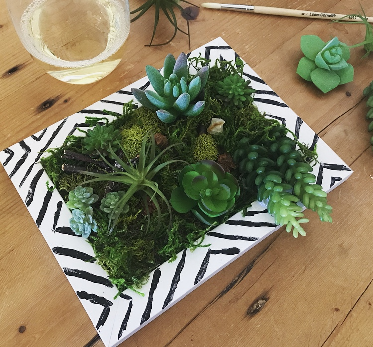 Upcoming:  Succulent Wall Hanging