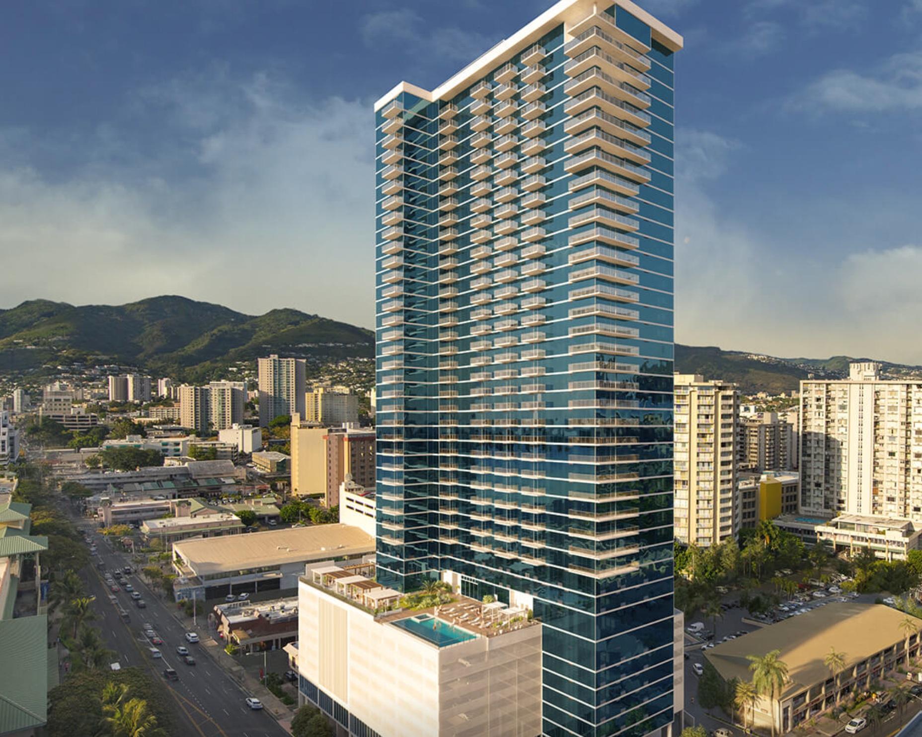 MIDTOWN ALA MOANA - The Kapiolani Corridor transforms. Entry Level to Ultra-Luxury Condos in Honolulu.