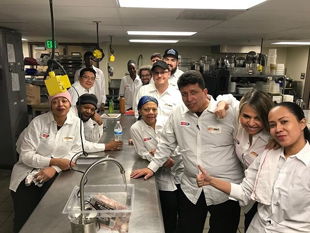 """Special thanks to our latest #CCNSupporter @bossdefrost who donated their thawing device to our @emilygriffithtechcollege @culinaryquickstart class #BossDeFrost #IAmAWaterBoss https://www.bossdefrost.com/ 💧💧💧 Chef Instructor, Blake, says: """"Every night we have had a new item or items that have needed to be thawed rather quickly, as we only have 4 hours of classroom time. Since Chris had come by and demonstrated it, our students have been excited to see the Boss Defrost in action and request to have things to thaw so that we can utilize it instead of running water as most kitchens do. It's incredibly encouraging to see students immediately get behind the Boss Defrost, as they're all aware of how impactful and beneficial to the environment it is! We are so proud to be doing our part and being part of the solution instead of wasting countless gallons of water, and can't wait to show the Boss Defrost to all of our upcoming classes with the hopes that they carry the knowledge with them that there is a better way to sustain our fresh water in professional kitchens."""""""