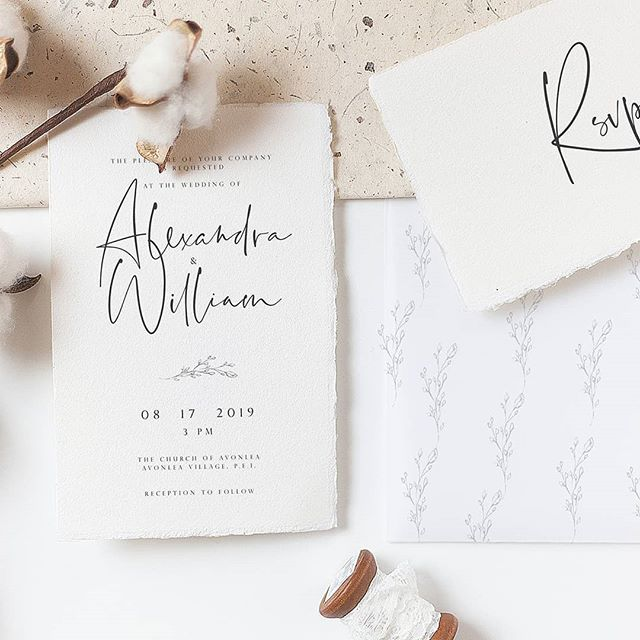 We like to capture the feeling of first hazy Summer and Autumn mornings, to combine fine and delicate looks, to create pure and authentic look.  #weddingstationery #weddinginvitations #wedding2019 #wedding2020 #calligraphy  #handmadepaper #cottonpaper #customdesign #canadawedding #organicwedding #quebecwedding #mariagequebec #mariage2019 #mariage2020 #fairepartmariage #signaturepapeterie