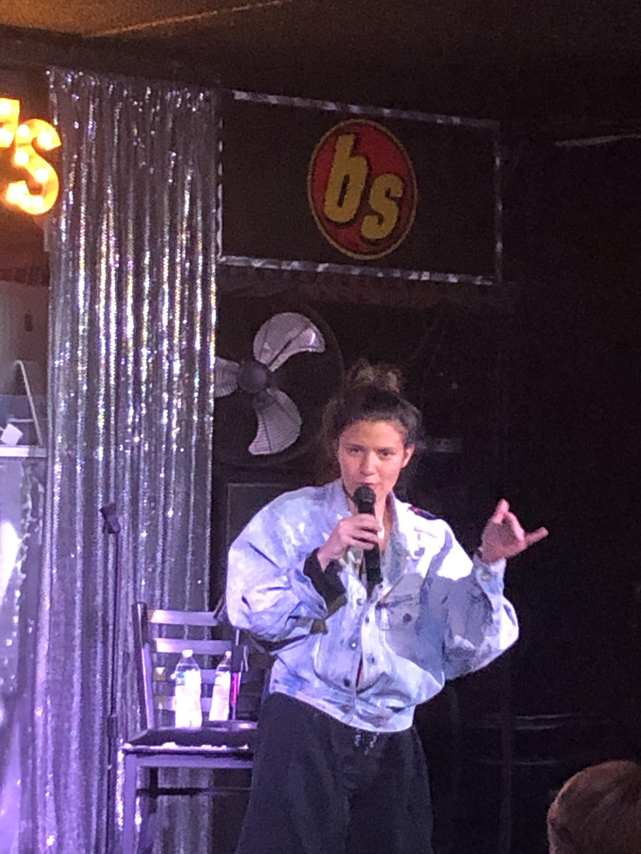 Kari Assad performing at BS West! -