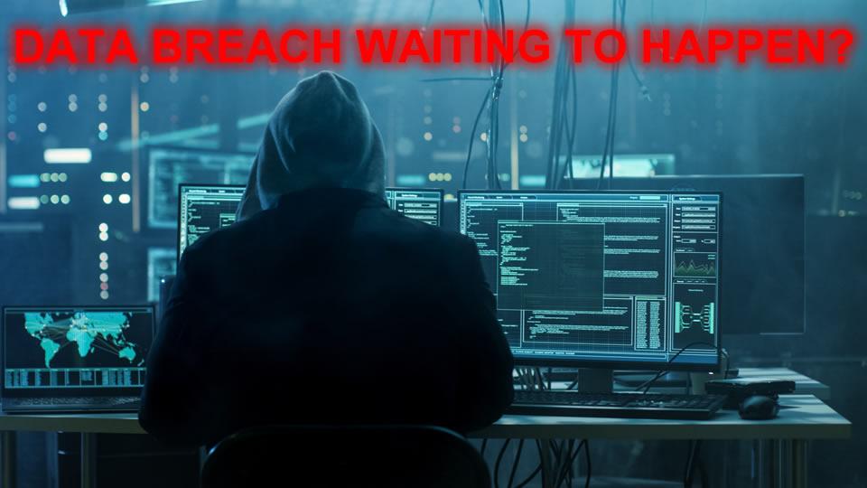 sensitive data breach waiting to happen