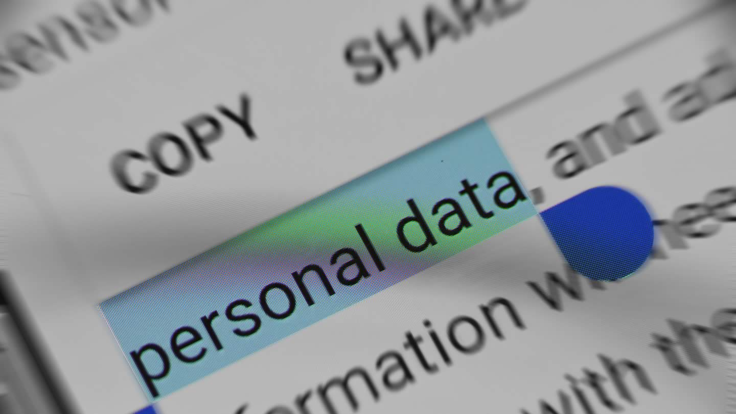 Consumers can direct website operators not to sell their personal data