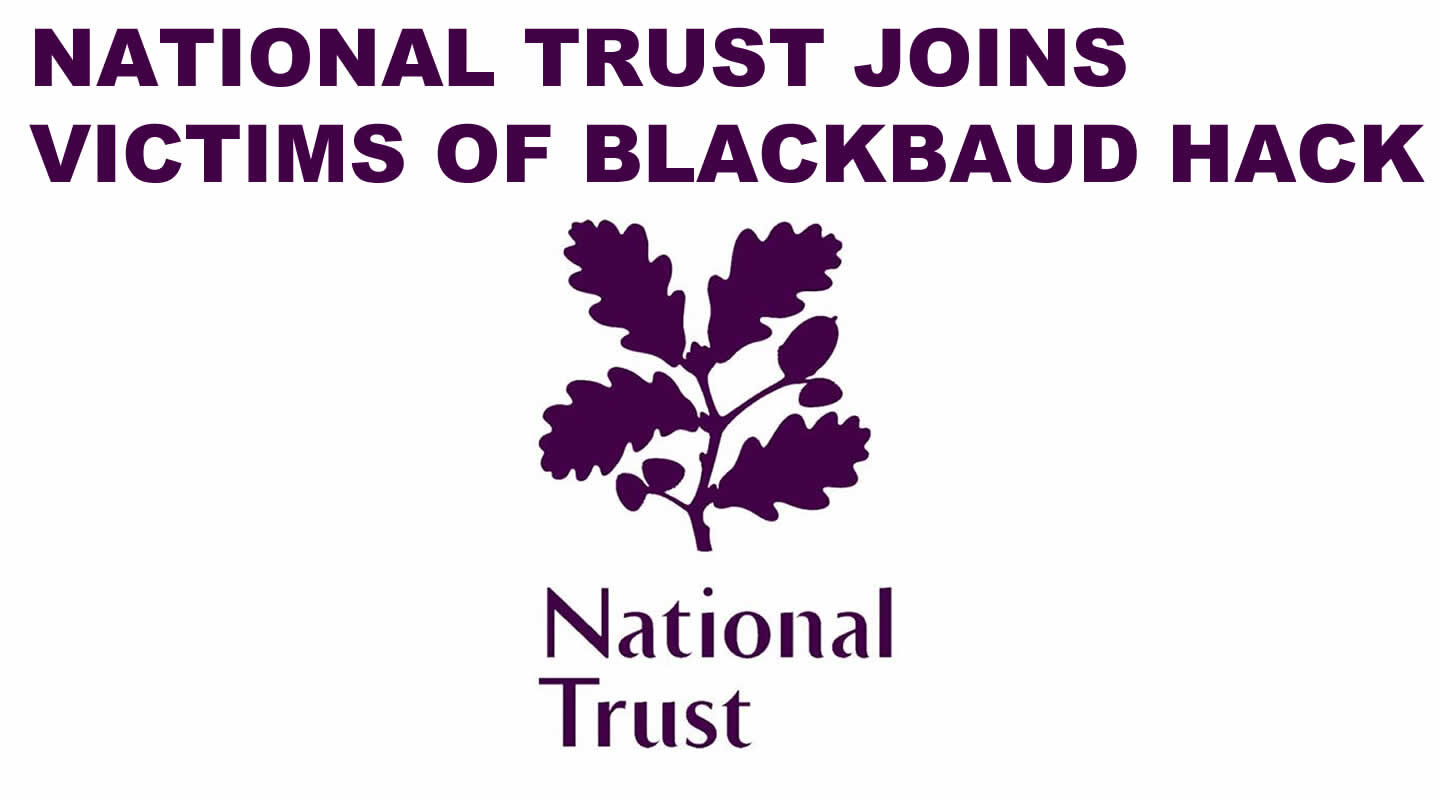 The National Trust is a charity that looks after places of historic interest and natural beauty.