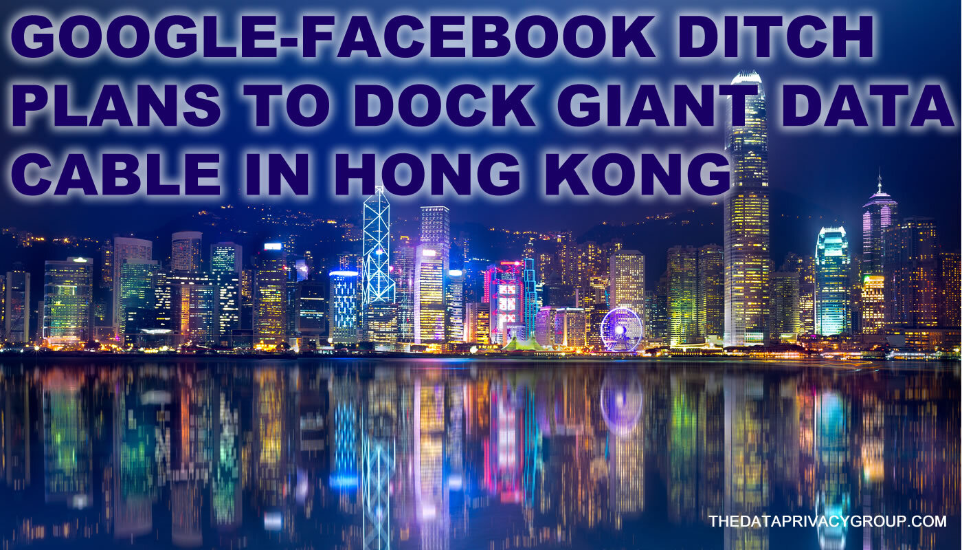 The original plan had been to land the data cable in Hong Kong