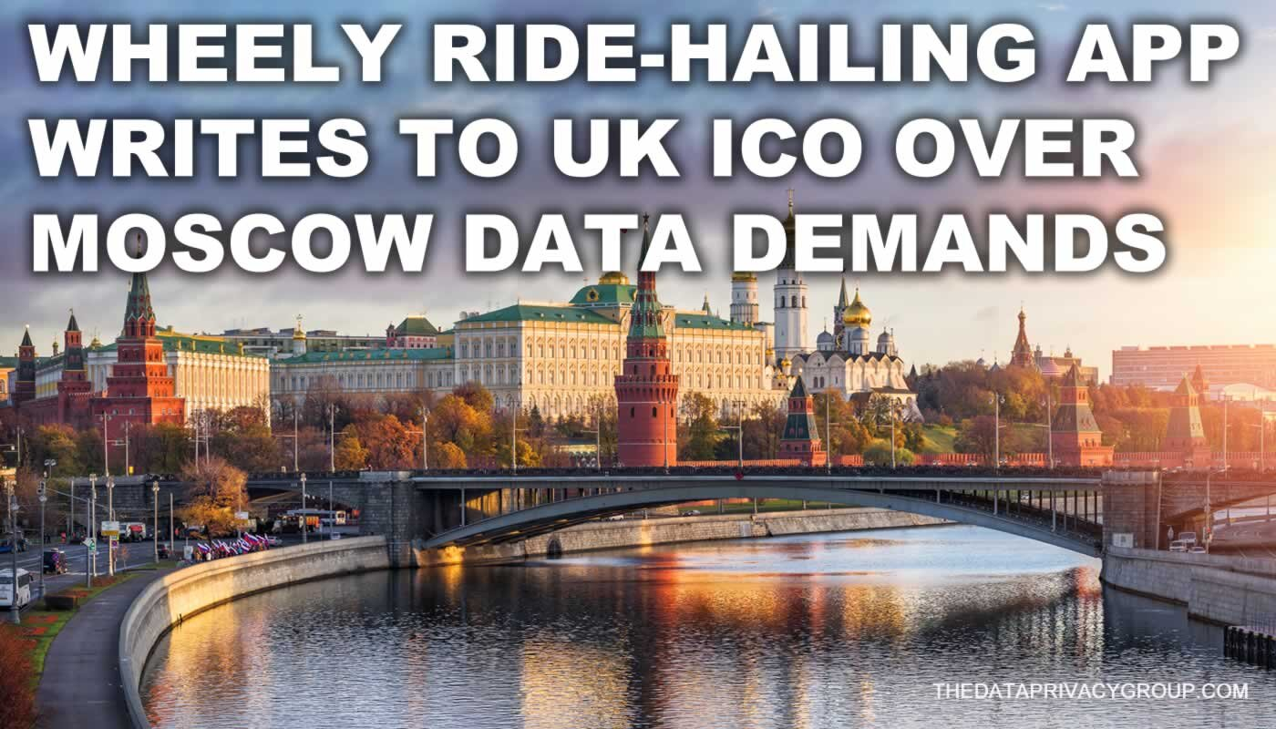 Wheely argues that the information supplied to Moscow's transport department could be used to work out details relating to individual customers.
