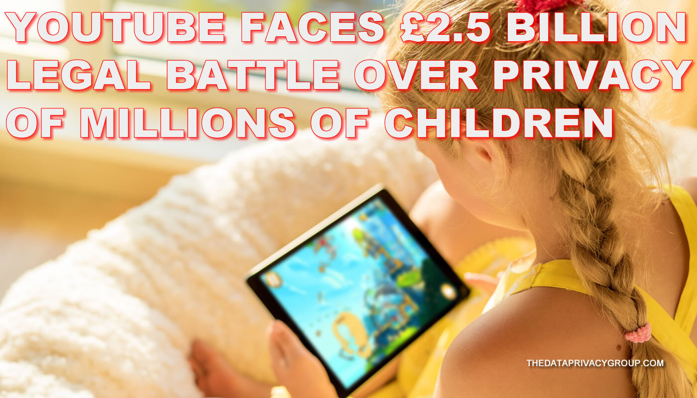 YouTube is accused of selling the data of children using their service to advertisers in contravention of EU and UK law