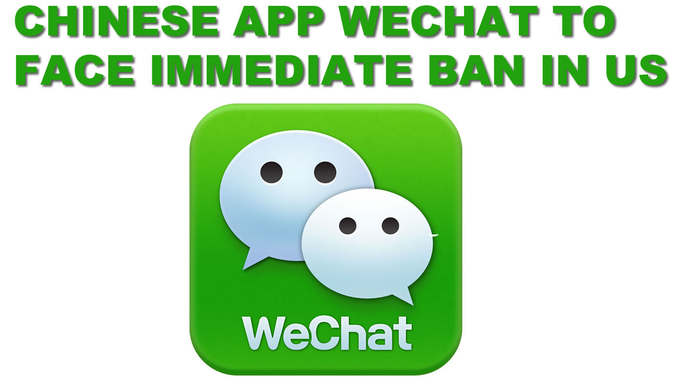 Department's filing says the WeChat mobile app collects and transmits sensitive personal information on people in US.