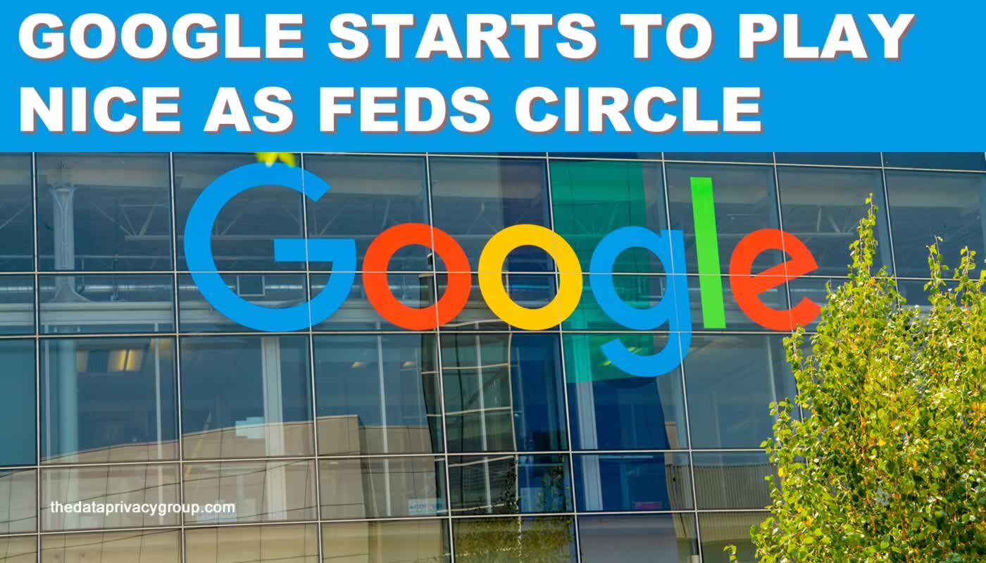 With the Feds circling, Google is starting to play nice with smaller rivals.