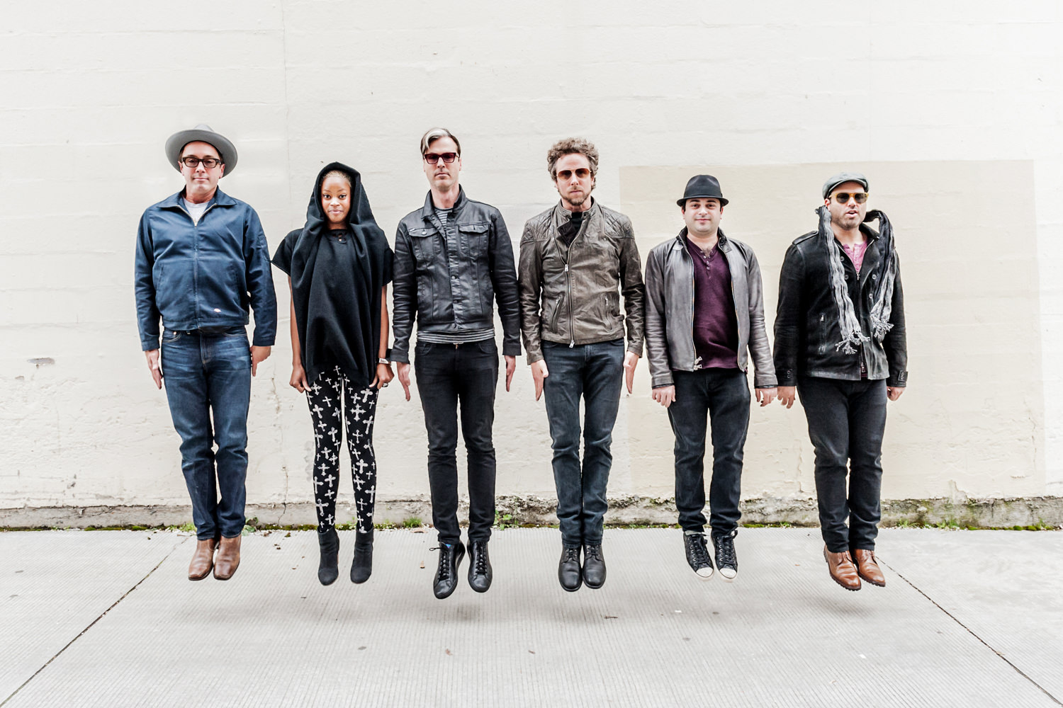 fitz and the tantrums band jumping at kexp
