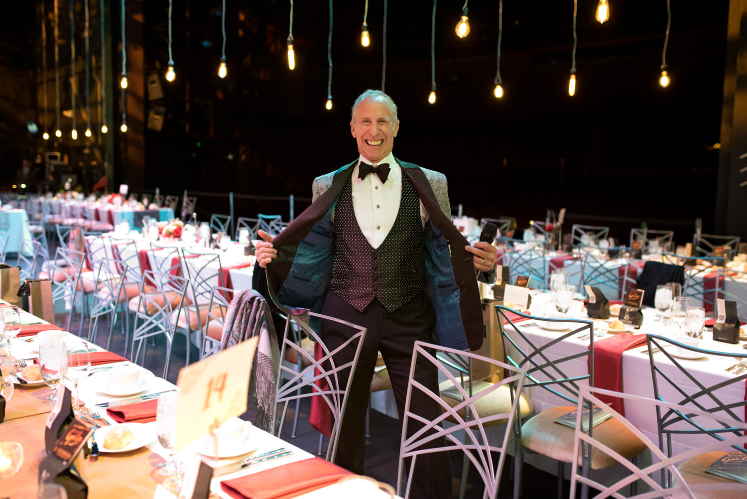 auctioneer at seattle repertory theater