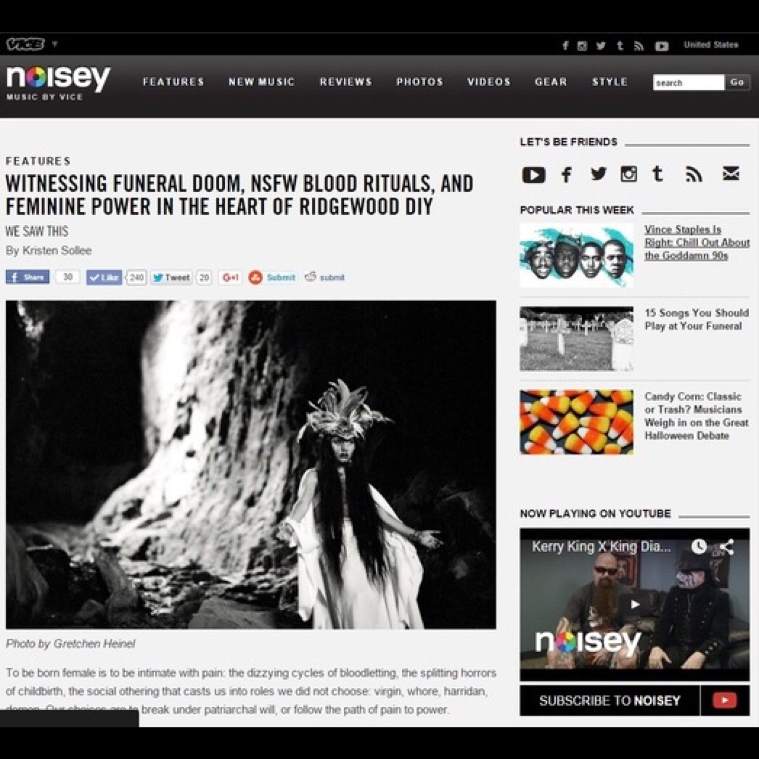 Noisey Music By Vice 26.10.2015