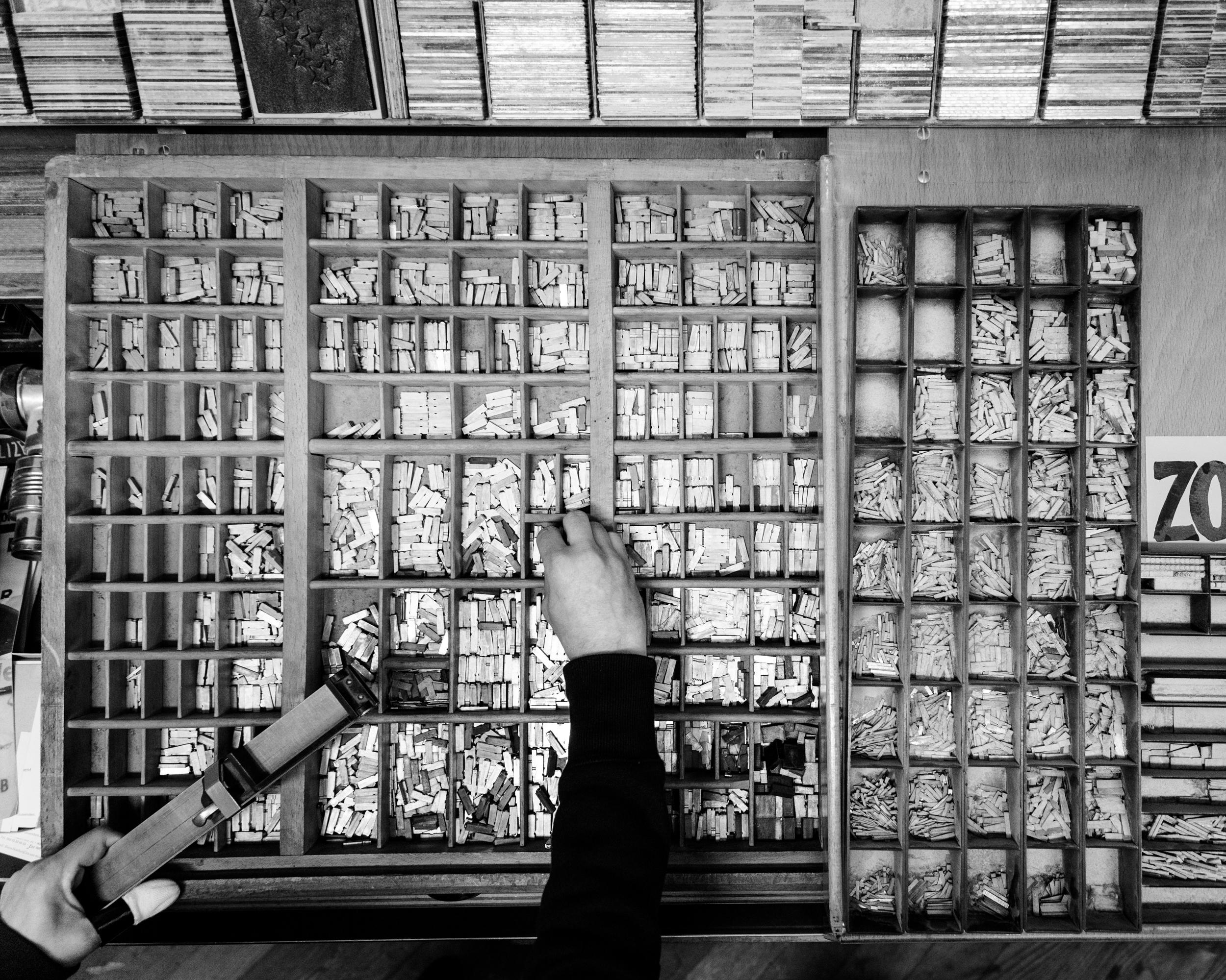 Reportage 90 Jahre eine Druckerei München