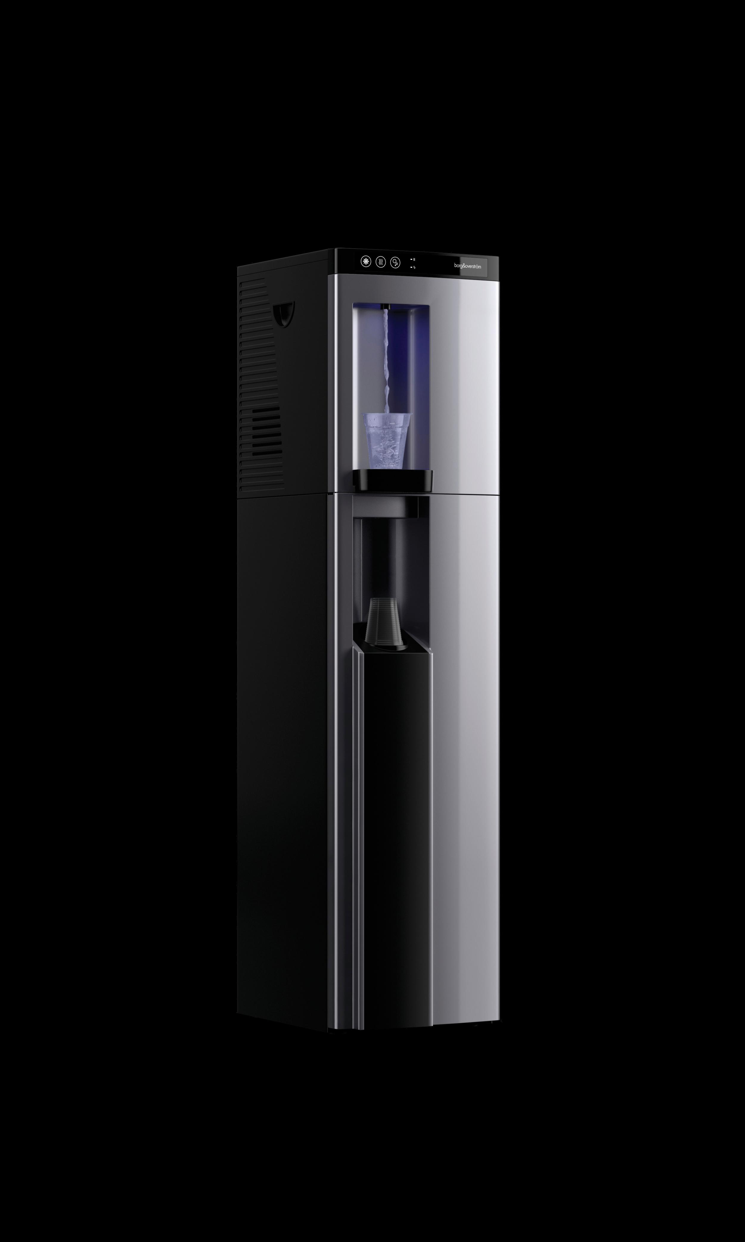 B4 Borg & Overstrom Floorstanding Silver Left Water Dispense (Transparent).png