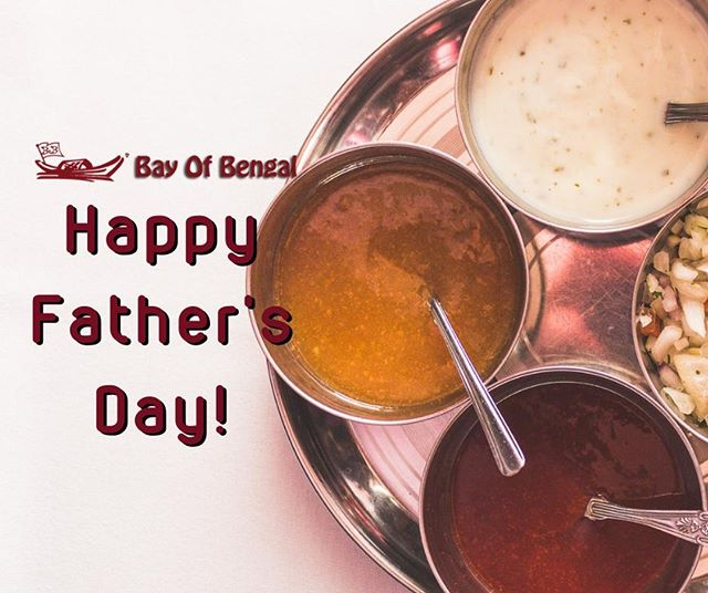 We'd like to wish all the dads out there a very happy Father's Day! ❤ We look forward to serving you with the best Indian food today!⠀ .⠀ .⠀ .⠀ .⠀ .⠀ #bayofbengal #sheffield #Gleadless #GleadlessRestaurant #GleadlessEats #Frecheville #GleadlessValley #SheffieldRestaurant #Foodie #IndianFood #IndianCuisine #FineIndianFood #IndianFineDining #Foodpic #IGfoodie #Foodoftheday #Foodphotography #Foodiesofindia #foodofindia #goodfood #goodfoodcommunity #awardwinning #awardwinningrestaurant #bestchef #gleadlesstakeaway #fathersday #dad #father #pops #special