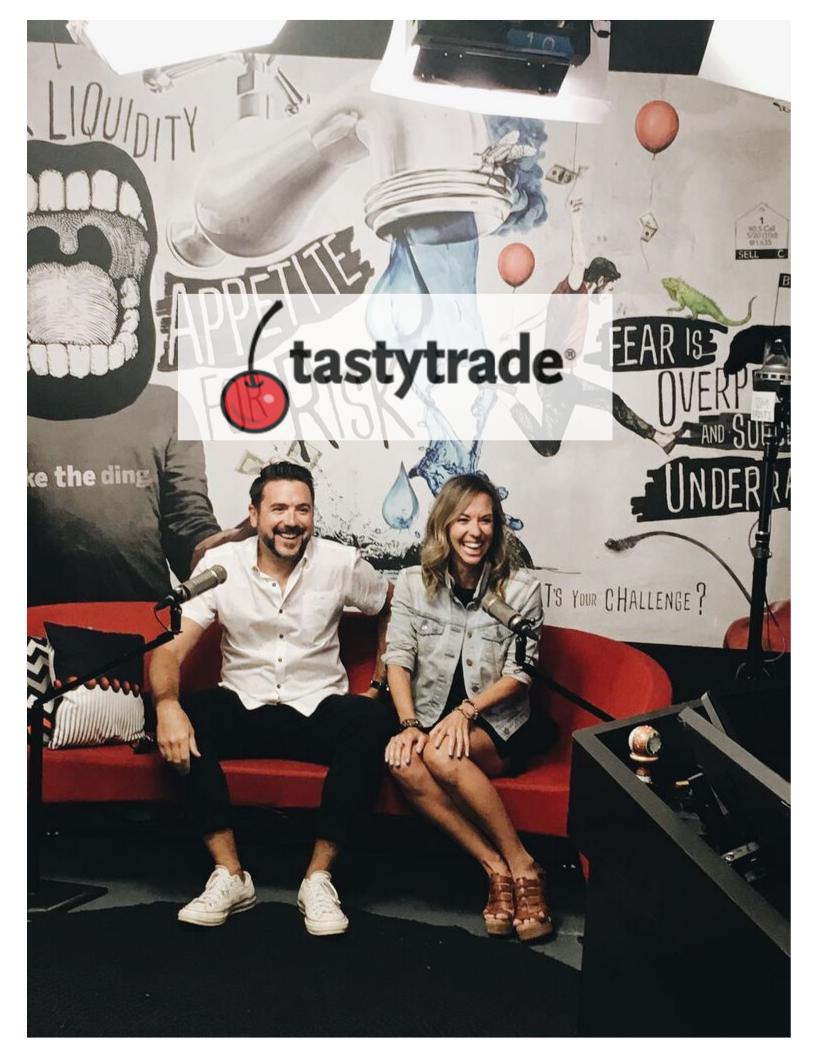 TASTY TRADE - Bootstrapping In America, Matt Woodburn & Sarah Neukom Founders of ESP Presents & Exchange312