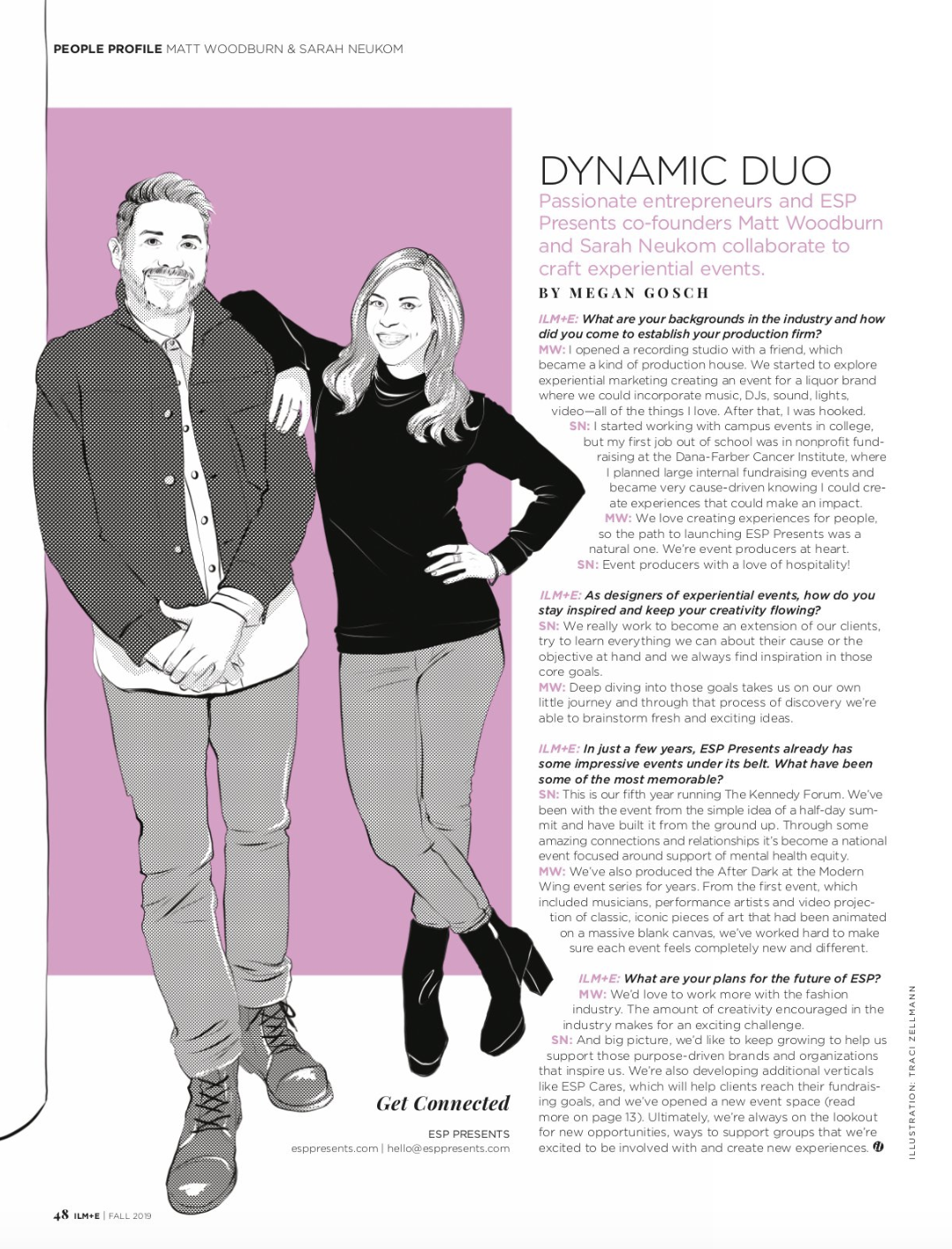ILLINOIS MEETINGS & EVENTS - Dynamic Duo feature
