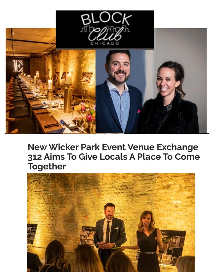 BLOCK CLUB - Wicker Park Event Venue