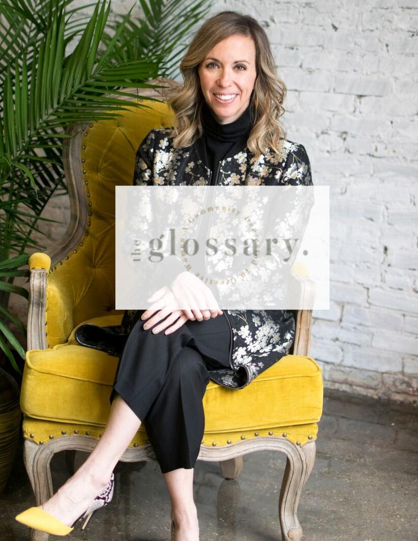 THE GLOSSARY - Sarah Neukom, Founder of ESP Presents & Exchange312