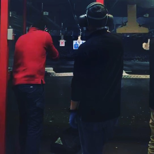 A day out target practicing. #guns #shootingrange #lifeofadventure #toronto 😈😈😈