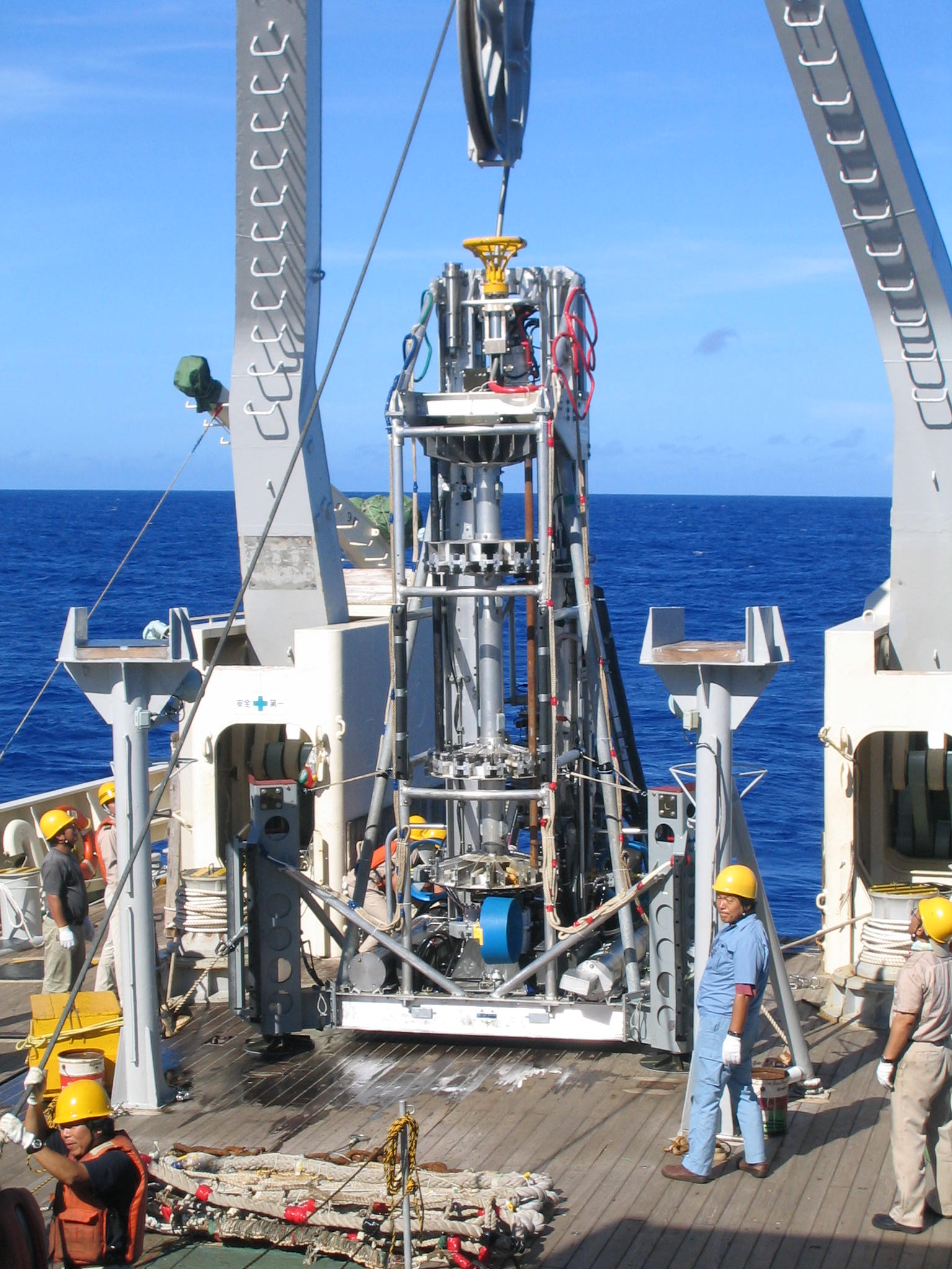 BMS Seafloor Drill
