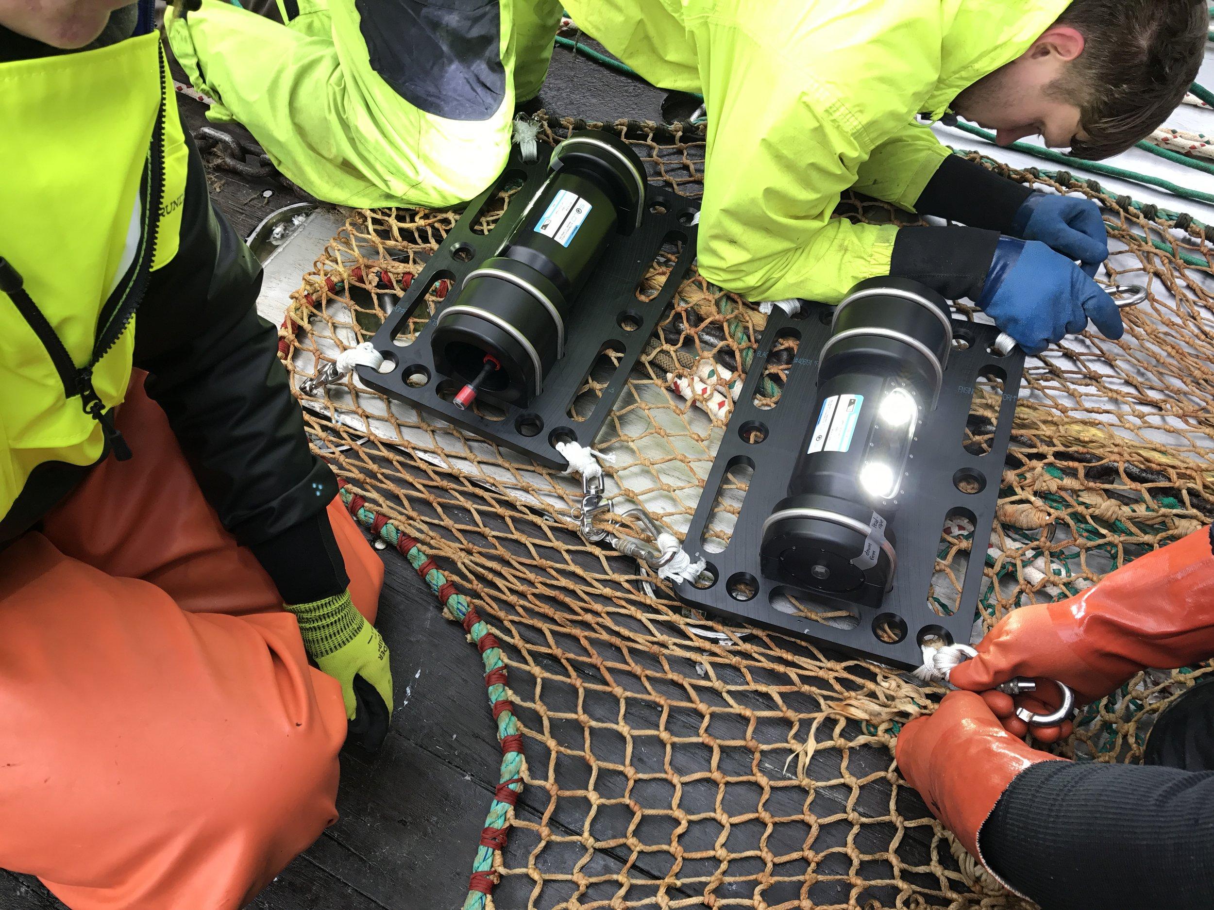 Netview systems in trawl net