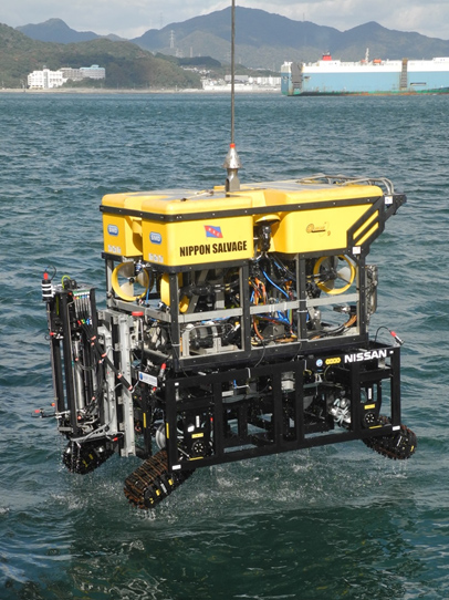 ROCS featured on Jamstec ROV/Crawler