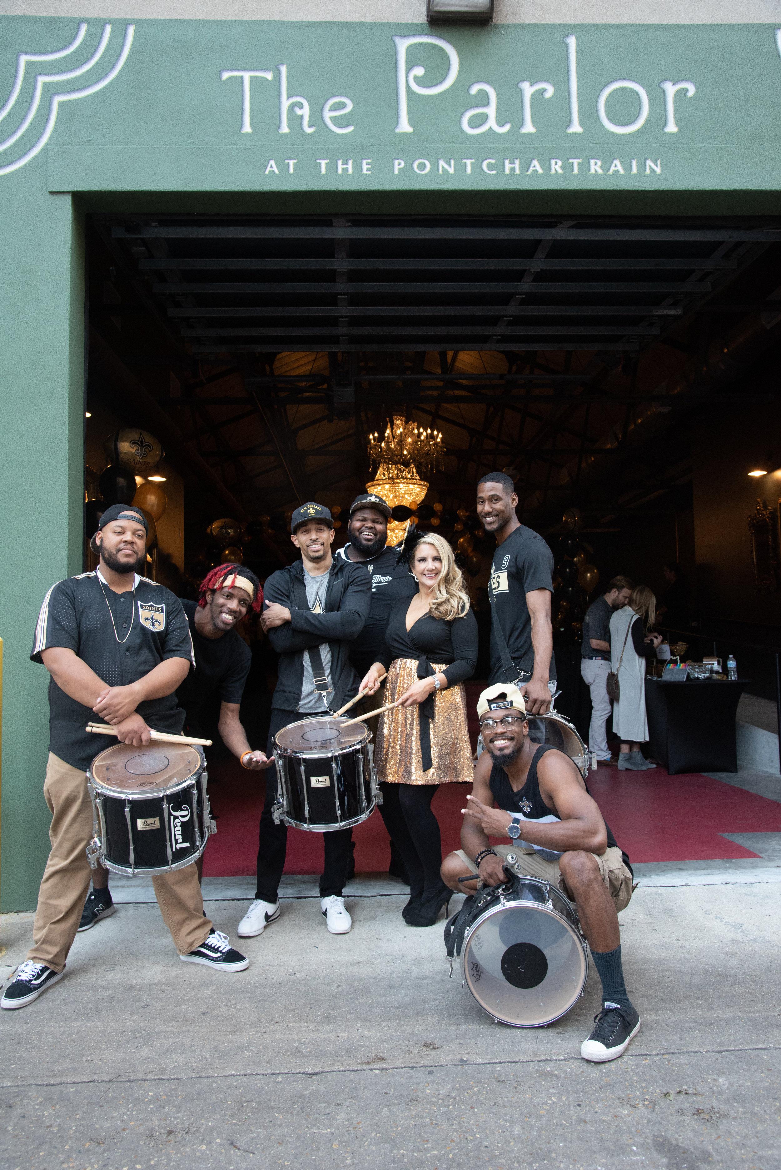 Drumline Birthday Celebration