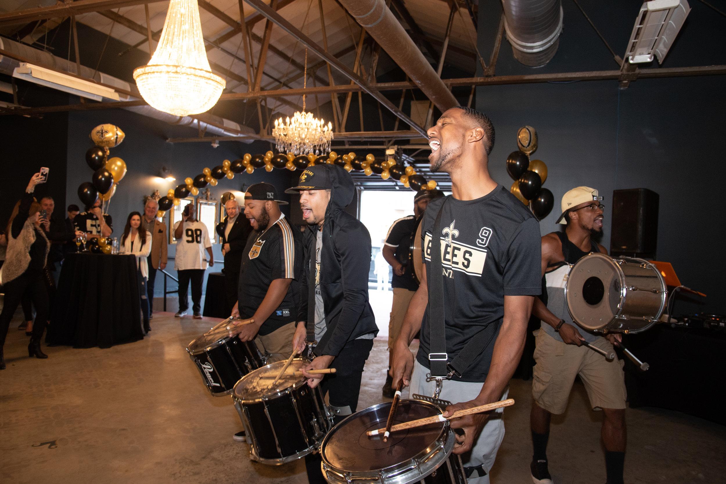 Drumline Birthday Party