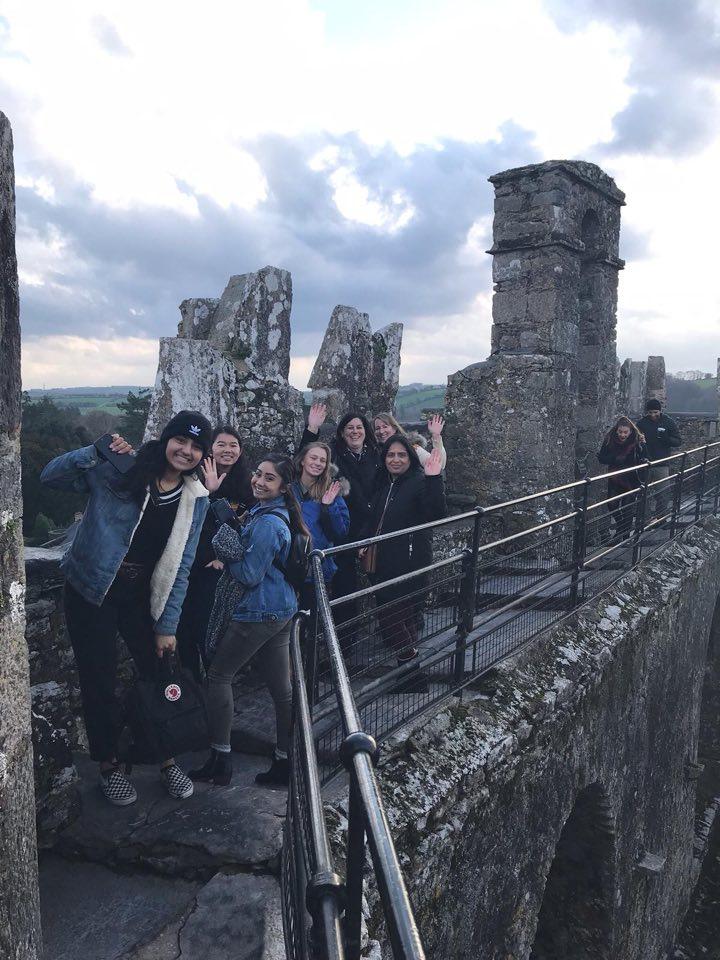 Santa Clara students visit Limerick, Ireland 2018.