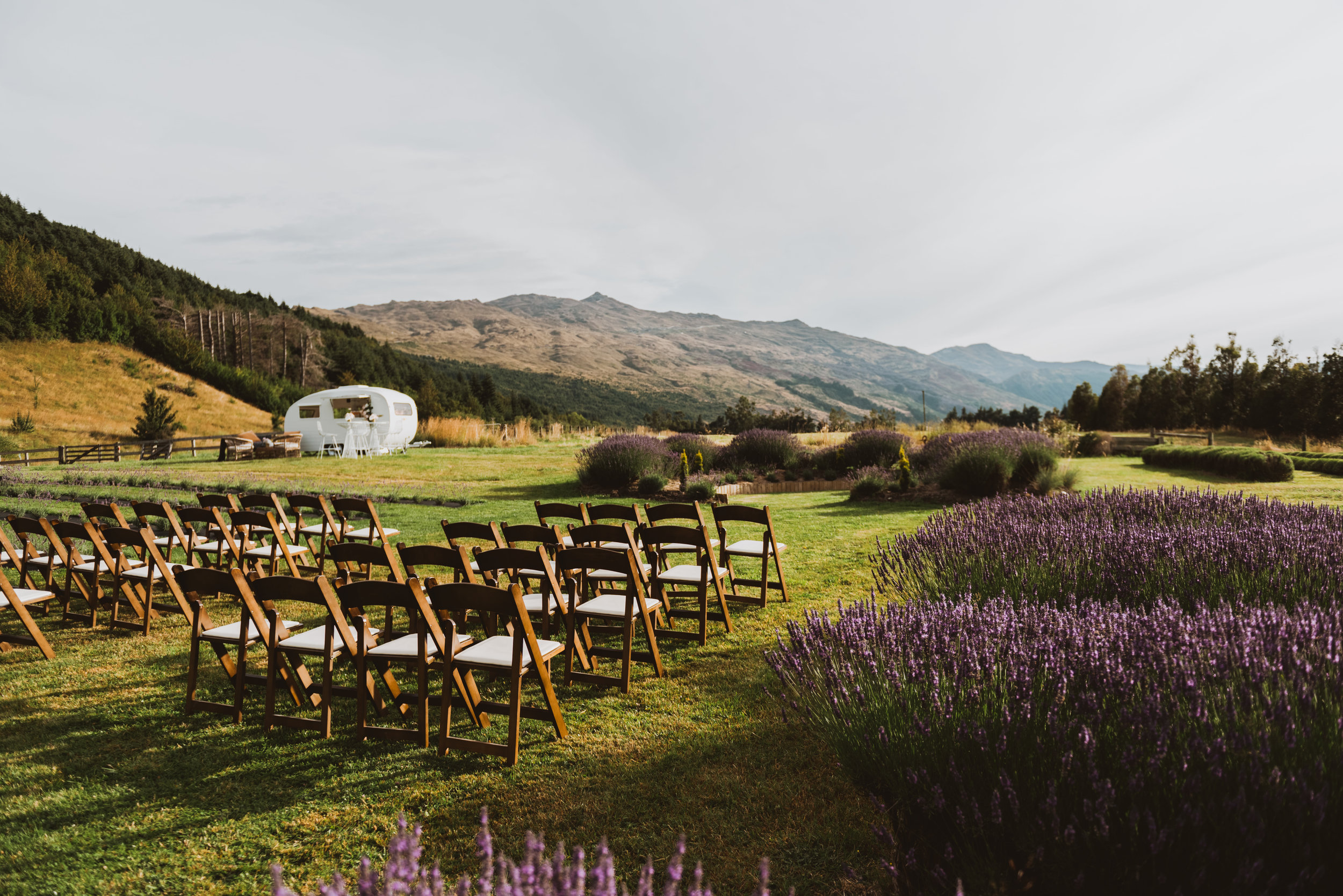 Wedding Ceremonies - Book your special occasion at our Organic Lavender Farm, set amongst the mountainous topography of the Southern Lakes region.Click here for more information.