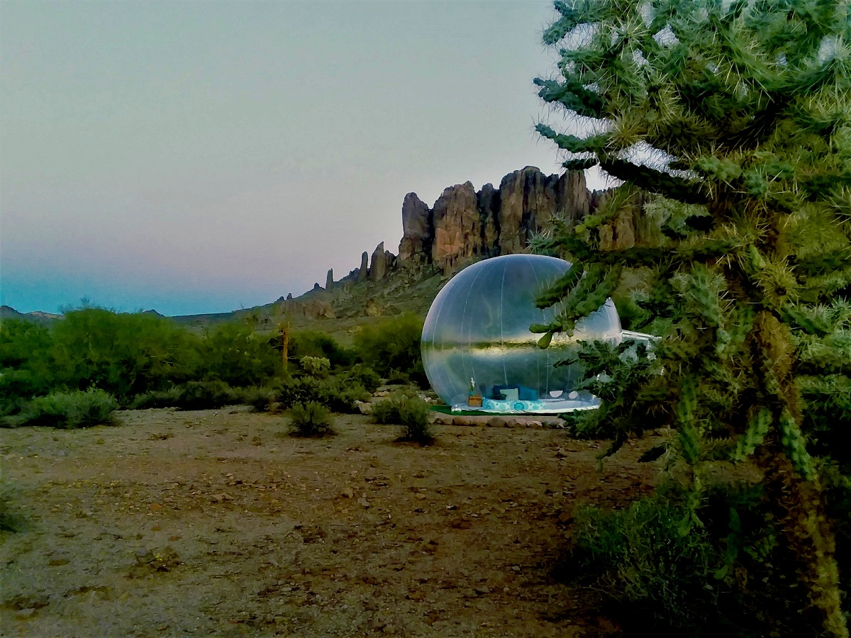 Bubble Huts in Arizona