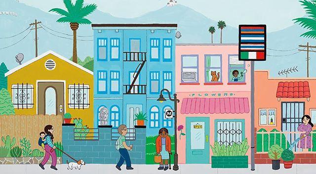 Hollywood created by artist Ana Serrano
