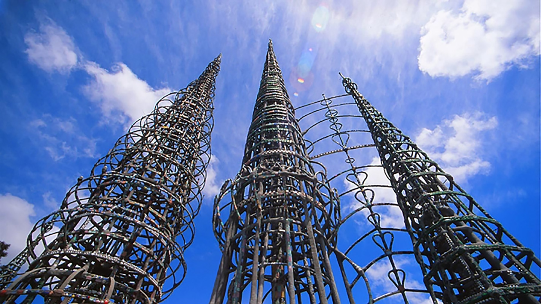 Watts Towers | Photo courtesy of photogreedy.com,     Discover Los Angeles Flickr Pool