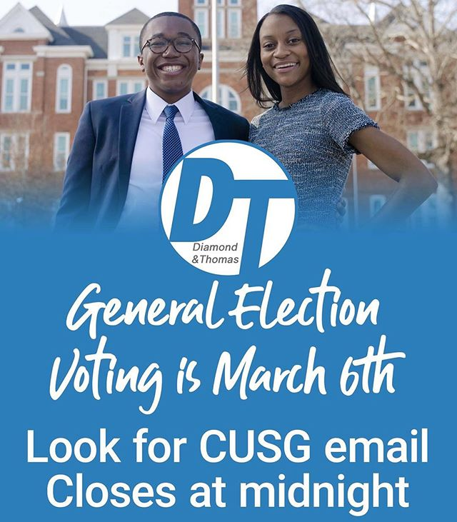 Make your voice be heard! General election voting on Wednesday. #Elevate