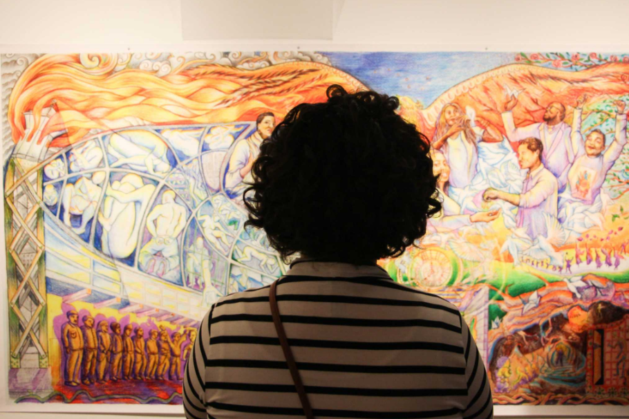 Project Rebound mural sheds light on incarceration