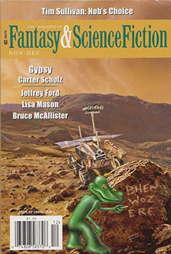 The Magazine of Fantasy and Science Fiction Nov/Dec 2015