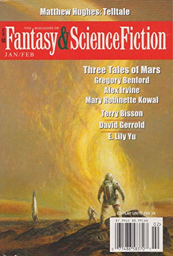 Fantasy & Science Fiction Magazine, Jan/Feb 2016