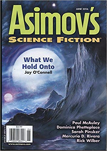 Asimov's June 2016