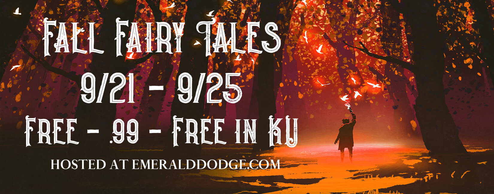 Check out these free, $0.99, and Kindle Unlimited  Fall Fairy Tale Books !