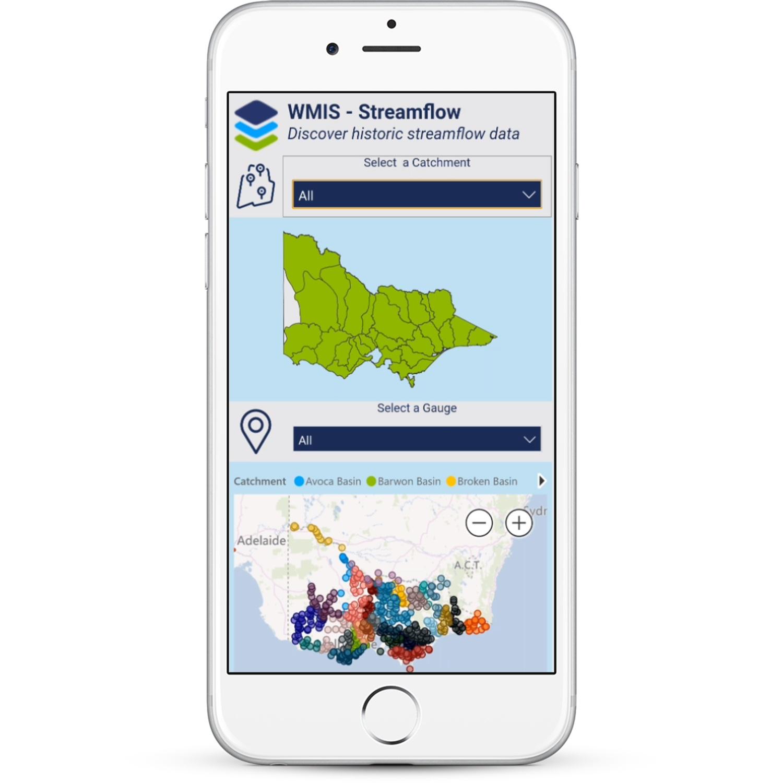 DiscoverEI Mobile Power BI Dashboard