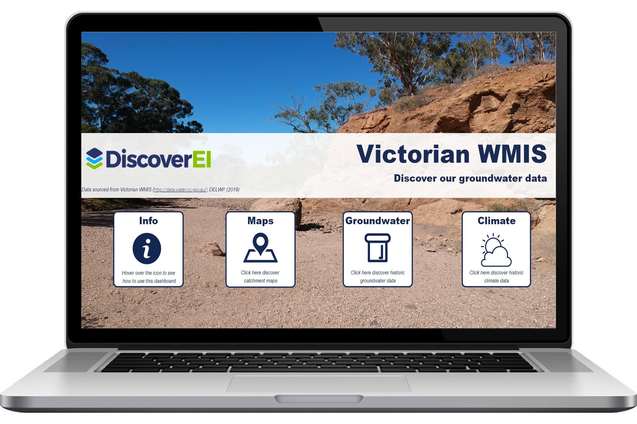 DiscoverEI Victorian WMIS Dashboard