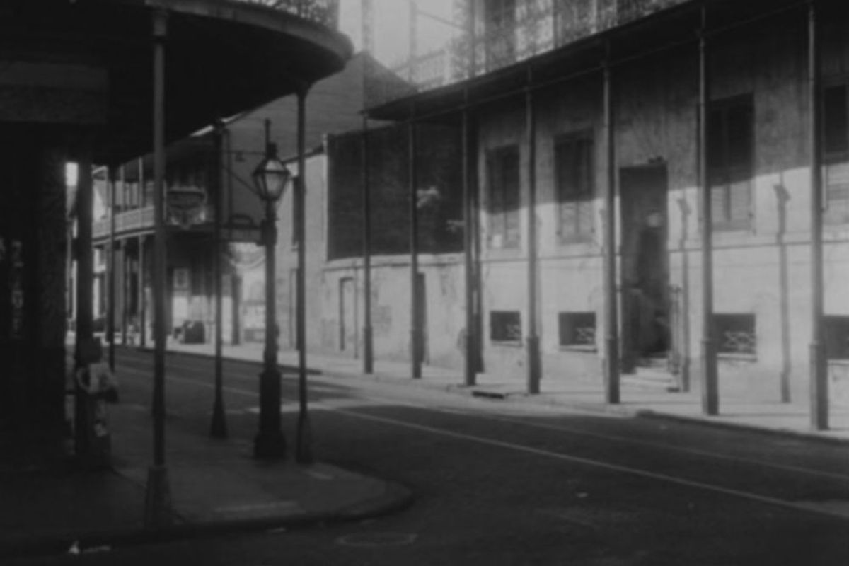 Take a look at a possible image of the Axe Man of New Orleans.