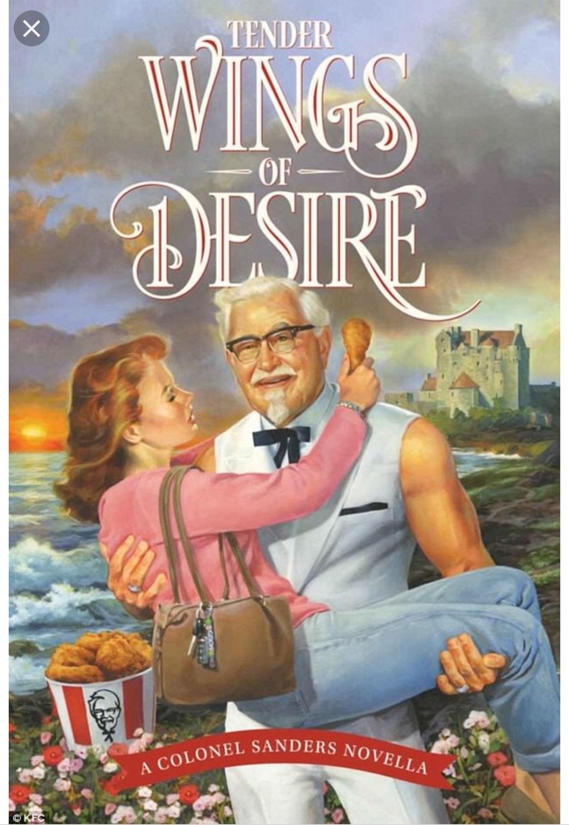 Check out this spicy book cover! Listen to our reaction segment for context!
